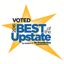 Voted 2016 Best of the Upstate