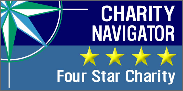 Charity Navigator 4-Star Award Recipient